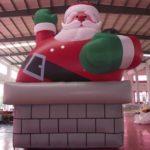 Père  Noël cheminée 990€